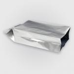 ซองฟอยล์เนื้อด้านขยายข้างสีเงิน (หนาพิเศษ) 8x11+4 cm. 100 ชิ้น : W004759