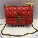 Dior dioraddict flap bag สีแดง งานHiend 1:1