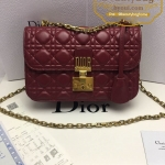 Dior dioraddict flap bag สีแดงเลือดนก งานHiend 1:1