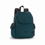 Kipling City Pack Mini Backpack สี Deep Teal