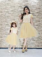 Mustard Lace