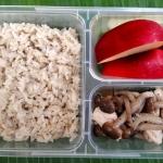 อกไก่ผัดเห็ดชิเมจิ