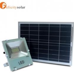 ไฟฟลัดไลท์ โซล่าเซลล์ 50W#Felicity Solar LED SMD Flood Light 50W