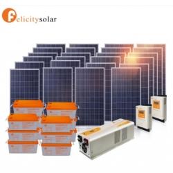 ชุดพลังงานโซล่าเซลล์ 10000VA(5000W) 48V#Felicity Solar Power System 1500VA 48V(6KW)