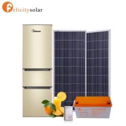 ตู้เย็น 2 ระบบ AC/DC 12V 196 ลิตร#Felicity AC & DC Solar Refrigerator 196L