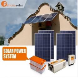 ชุดพลังงานโซล่าเซลล์ 3500VA(2000W) 24V#Felicity Solar Power System 3500VA 24V(2KW)