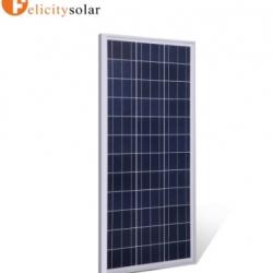 แผงโซล่าเซลล์ โพลี 100 วัตต์#Felicity Solar Panel Poly-crystalline 100W