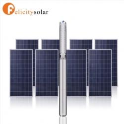 ปั๊มบาดาล 2 แรงม้า 1500W 2 ระบบ AC/DC (H110)/#Felicity AC & DC Hybrid Power Submersible Solar Water Pump 2HP 1500W(110)