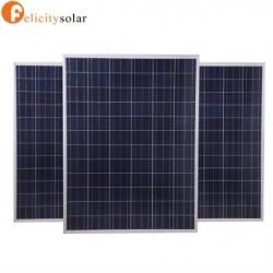 แผงโซล่าเซลล์ โพลี 155 วัตต์#Felicity Solar Panel Poly-crystalline 155W
