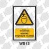 ป้ายระวังศีรษะ WS13