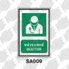 ป้ายหน่วยแพทย์ SA009