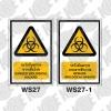 ป้ายระวังอันตรายจากเชื้อโรค WS27-WS27-1