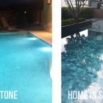 #หินปูสระว่ายน้ำ เกรดดี สีสวย พร้อมจัดส่งจ้า โทร : 089 116 7205