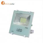 High Power Energy Saving LifePO4 Battery Solar LED Flood Light 30W#ไฟฟลัดไลท์ โซล่าเซลล์ 30W