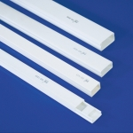 รางเก็บสายไฟสีขาว สำหรับงานตกแต่ง (PRI Type DD)
