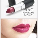 Mac lipstick Amorous 3g. ลิปเนื้อครีมสีโปร่ง มอบความรู้สึกนุ่มนวล สีสันแจ่มจรัส สร้างสรรค์ริมฝีปากมอบสีเด่นชัดแนบแน่นบนริมฝีปาก ในขณะเดียวกันก็มอบความชุ่มชื้น เผยริมฝีปากเนียนนุ่ม เย้ายวน อิ่มเอิบ ชุ่มชื้น เปล่งประกายเงางาม