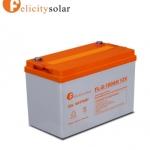 แบตเตอรี่ ดีฟไซเคิล 100Ah 12V#Felicity Solar Battery Deep Cycle 100Ah 12V