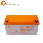 แบตเตอรี่ ดีฟไซเคิล 150Ah 12V#Felicity Solar Battery Deep Cycle 150Ah 12V