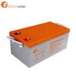 แบตเตอรี่ ดีฟไซเคิล 250Ah 12V#Felicity Solar Battery Deep Cycle 250Ah 12V
