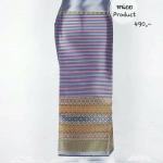 tnc_1059 ผ้าไหม ผ้าซิ่นล้านนา กว้าง 1.00 ม. ยาว 1.80 ม. ราคา 490 บาท