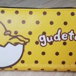กระเป๋าดินสอ หรือ เครื่องสำอางค์ Gudetama ไข่ขี้เกียจ แบบหนัง