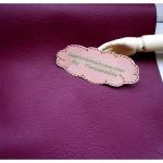 หนังเทียมสีม่วงเปลือกมังคุด แบ่งขาย 1 หน่วย = ขนาด1/4 หลา : 45X 65 cm