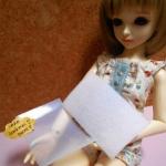 """""""พร้อมส่งหมดค่ะสั่งได้รอของนะคะสินค้าสั่งเข้ามาค่ะ"""" TVW : เทปตีนตุ๊กแกแบบบางสีขาว (plastic) เหมาะทำชุดตุ๊กตา ราคาต่อชิ้นคู่ ขนาด 5 X8 cm = 1 แพค"""