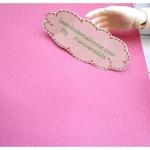 หนังเทียมสีชมพูหวาน แบ่งขาย 1 หน่วย = ขนาด1/4 หลา : 45X 65 cm