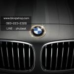 เพชรรอบโลโก้หน้ารถ BMW (Diamond Cover Front Logo BMW)