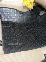 ยางปูพื้นรถยนต์ VIGO CAB รุ่น MINI MAT กระดุมเม็ดเล็กสีดำ เต็มคัน