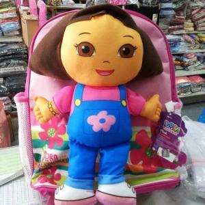 กระเป๋านักเรียน กระเป๋าเป้ Dora โดร่า