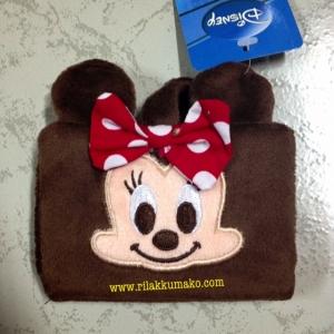 สมุดใส่บัตร ลาย มินนี่เมาส์ Minnie Mouse ใส่บัตรได้ 20ใบ