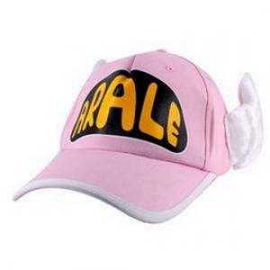 หมวกอาราเล่ มีปีก สีชมพูอ่อน