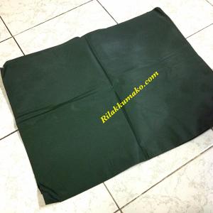 แผ่นยาง สำหรับปูรองนอน ขนาดเมื่อกางออกมา 100x175cm สีเขียวขี้ม้า