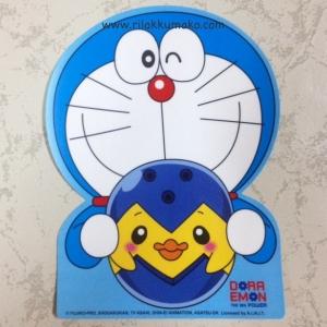 ป้าย สูญญากาศ สำหรับติด พรบ. ลาย Doraemon โดเรมอน #2