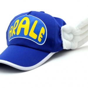 หมวกอาราเล่ มีปีก สีน้ำเงิน