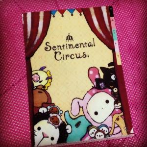 แฟ้มสอด A4 ลาย Sentimental Circus 5ช่อง #4