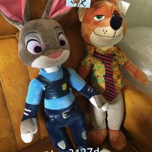 ตุ๊กตากระต่าย จูดี้ และ ตุ๊กตาจิ้งจอก นิก Nick Wilde จาก Zootopia นครสัตว์มหาสนุก