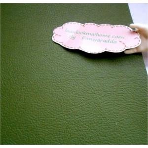หนังเทียมสีเขียวขี้ม้า แบ่งขาย 1 หน่วย = ขนาด1/4 หลา : 45 X 65 cmค่ะ