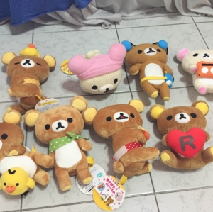 ตุ๊กตาหมี ริลัคคุมะ san-x ขนาด 7-8นิ้ว