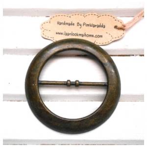 หัวเข็มขัด 3 x 3 cm (used)