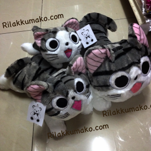 ตุ๊กตา แมวน้อย จี้จัง แมวจี้จัง Chi's sweet home มี3ขนาด: 10นิ้ว 12นิ้ว และ 16นิ้ว