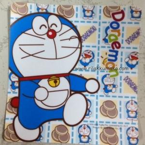 ป้าย สูญญากาศ สำหรับติด พรบ. ลาย Doraemon โดเรมอน #3