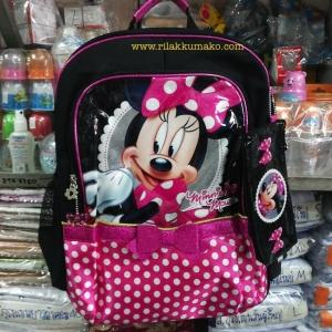 กระเป๋านักเรียน มินนี่เมาส์ Minnie Mouse ขนาด 13x17นิ้ว