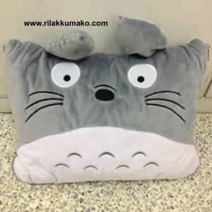 หมอนผ้าห่ม ลาย โตโตโร่ Totoro ผ้าห่มเนื้อผ้านาโน 3ฟุต