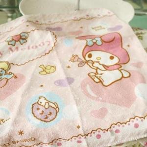 ผ้าเช็ดหน้า Sanrio ลาย My Melody มายเมโลดี้