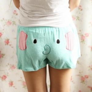 กางเกงขาสั้น ช้าง Mouton Sentimenatl Circus ขนาด Freesize
