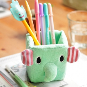 แท่นวางปากกา ลาย ช้าง Mouton Sentimental Circus