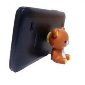 ที่ตั้งมือถือ เป็นจุ๊บติดโทรศัพท์ ลายหมี ริลัคคุมะ Rilakkuma