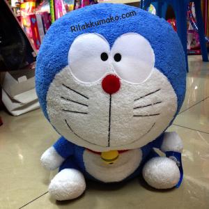 ตุ๊กตา โดเรมอน Doraemon ขนาดสูง16นิ้ว กว้าง12นิ้ว อ้วนจ้ำม่ำมาก